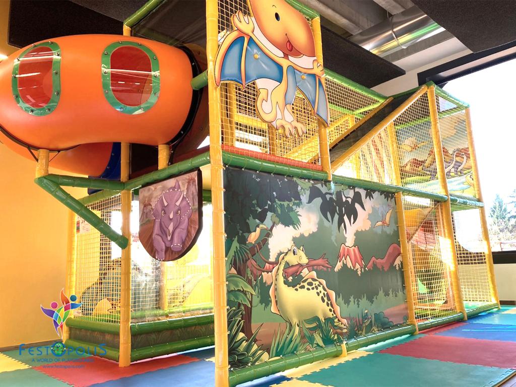 playground uso interno Wonderland Dinopolis FEPI 008 B 1