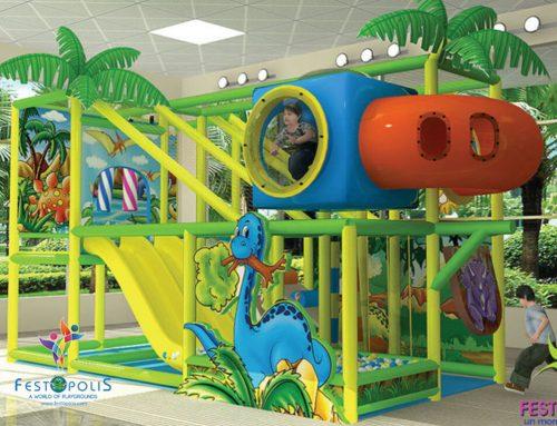 Playground Uso Interno Wonderland Dinopolis – FEPI-008 B