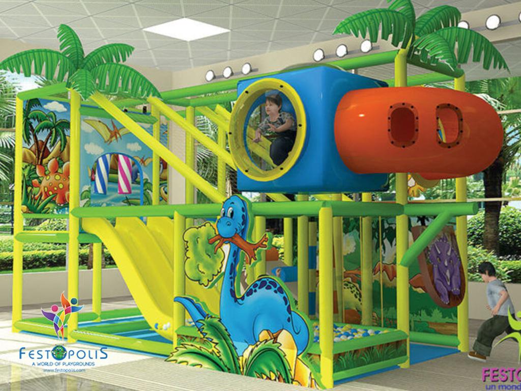 playground uso interno Wonderland Dinopolis FEPI 008 B 6