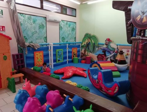 Playground da interno e Gonfiabile a tema pirati: benvenuti nel mondo Tortuga