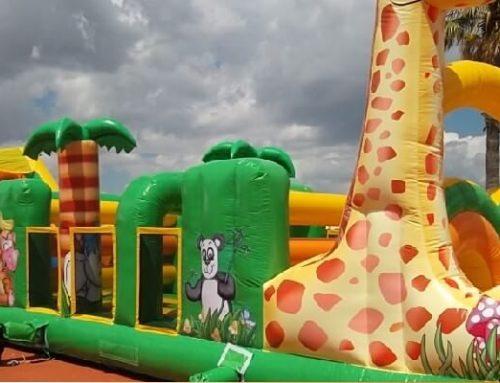 Gonfiabili Giganti e Playground Professionali: Lo Sporting Club Si Affida A Festopolis