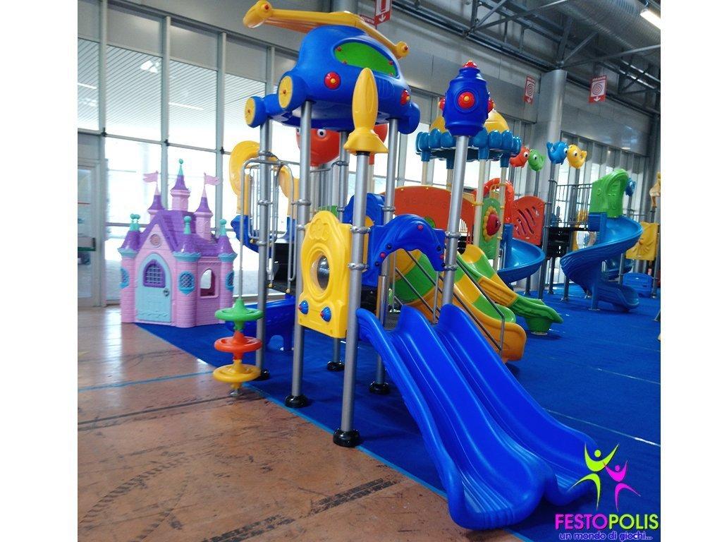 Playground in acciaio ELICOTTERO -3- FEPE-126