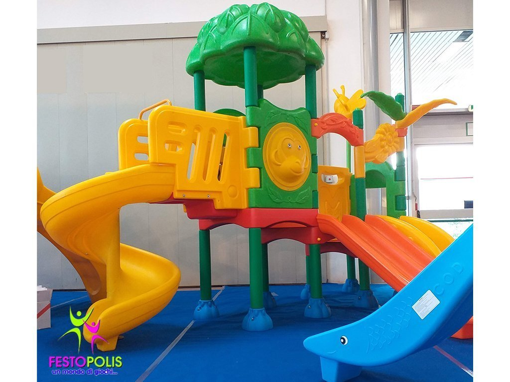 Playground In Polietilene Flower -1- FEPE-501