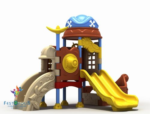 Playground In polietilene Pirata  FEPE-502