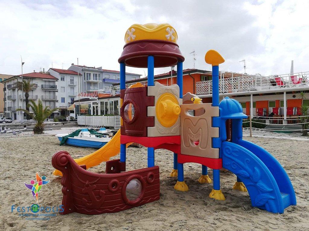Playground Polietilene FEPE-502 6