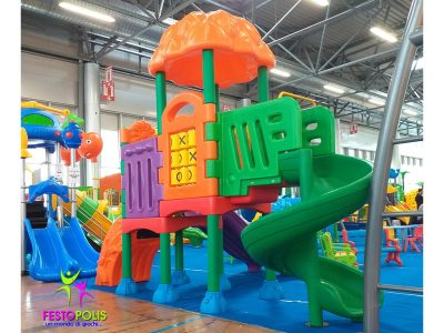 Playground in Polietilene Flower -1- FEPE-601