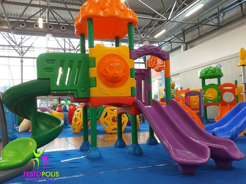 Playground in Polietilene Flower -3- FEPE-601