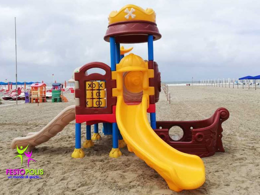 Playground In Polietilene Pirata FEPE 901 1