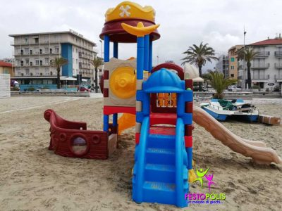 Playground In Polietilene Pirata FEPE 901 2