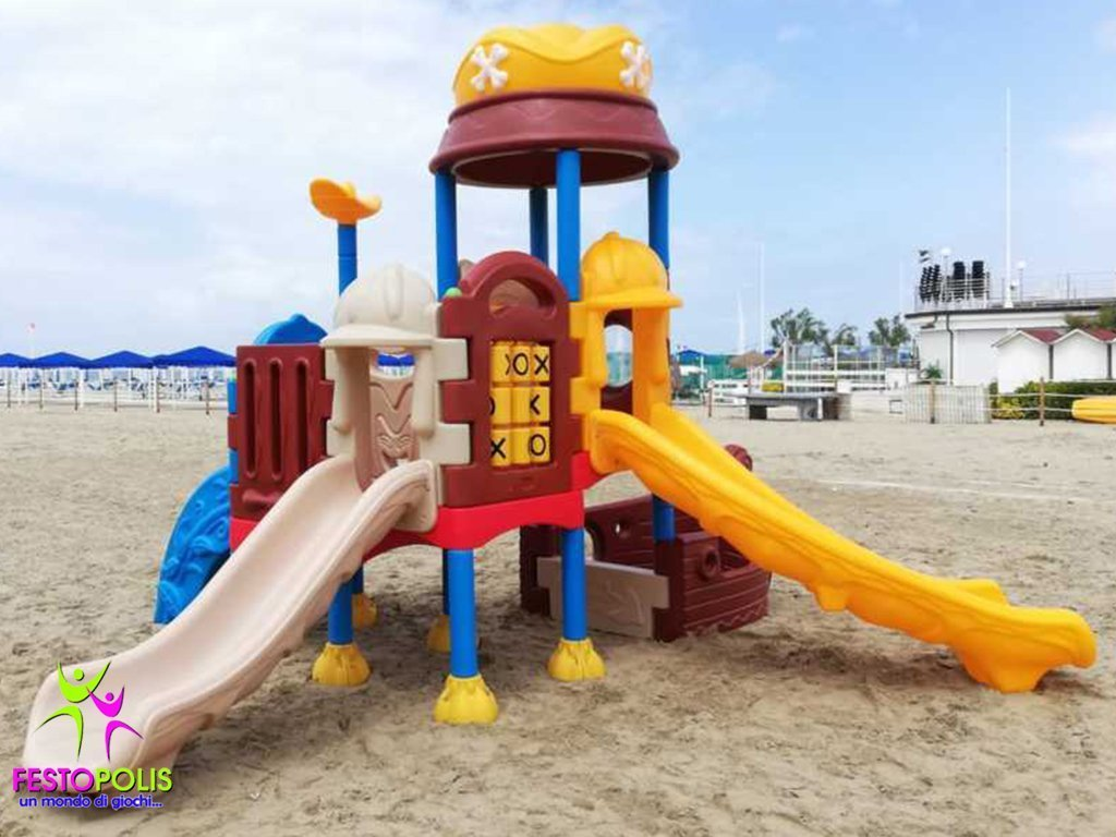 Playground In Polietilene Pirata FEPE 901 3
