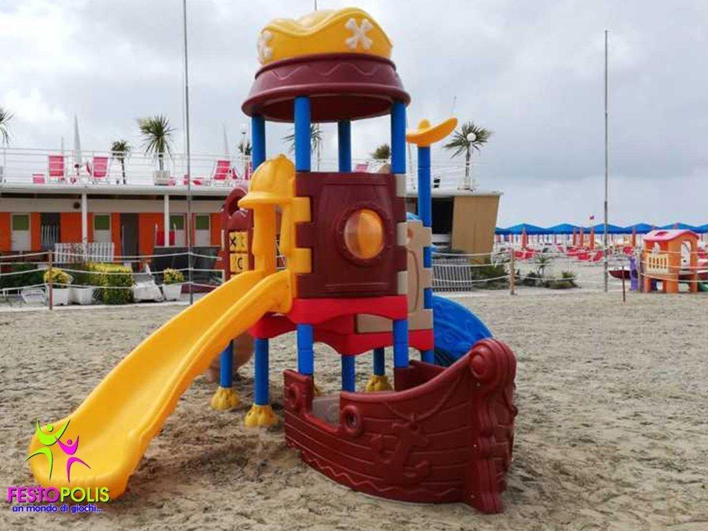 Playground In Polietilene Pirata FEPE 901 4