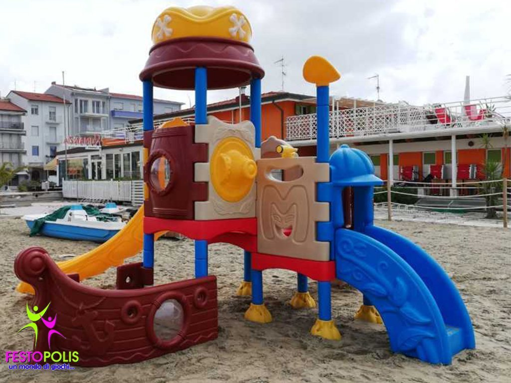 Playground In Polietilene Pirata FEPE 901 5