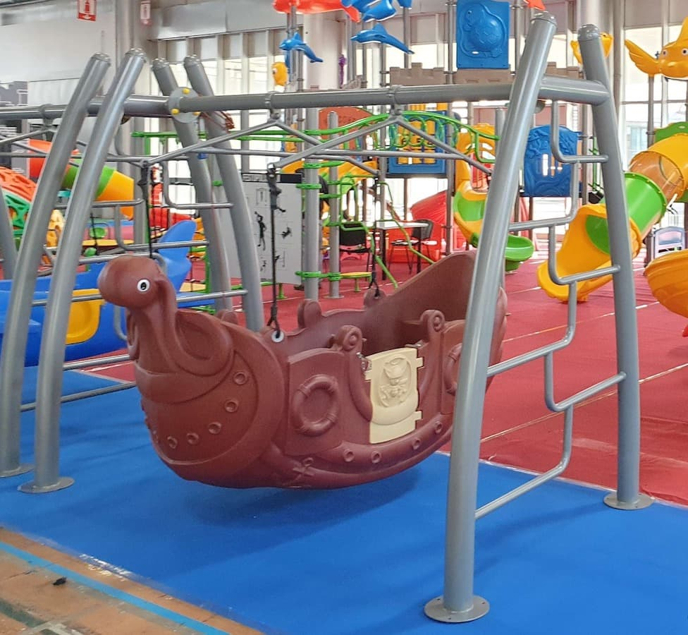 altalena per bambini nave 8 posti fege 800