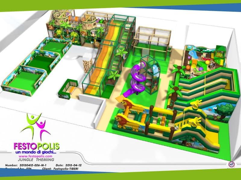 progettazione parco giochi interno zanzibar