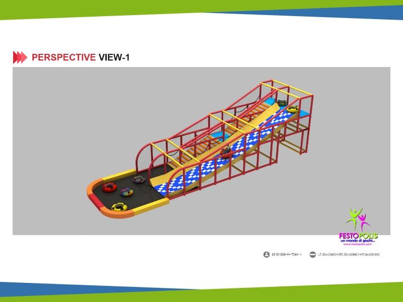 progettazione playground bagno oro
