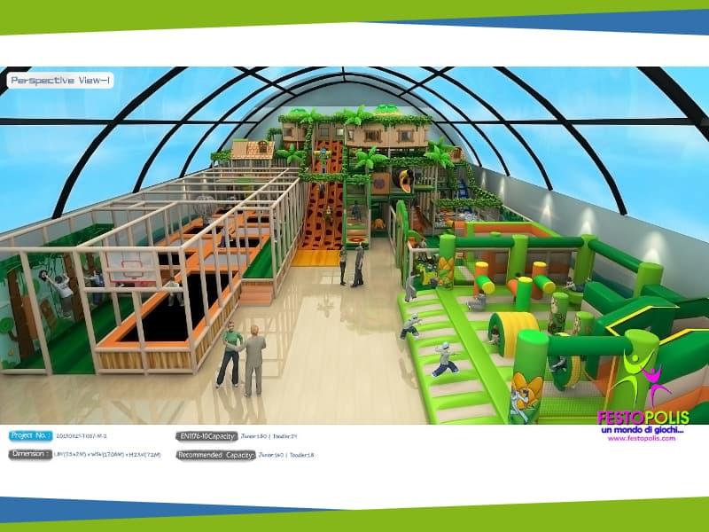 progettazione trampoline park ludoteca termoli