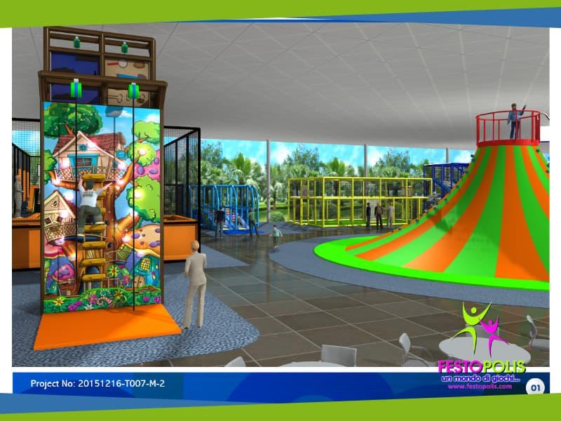 progettazione trampoline park san salvo