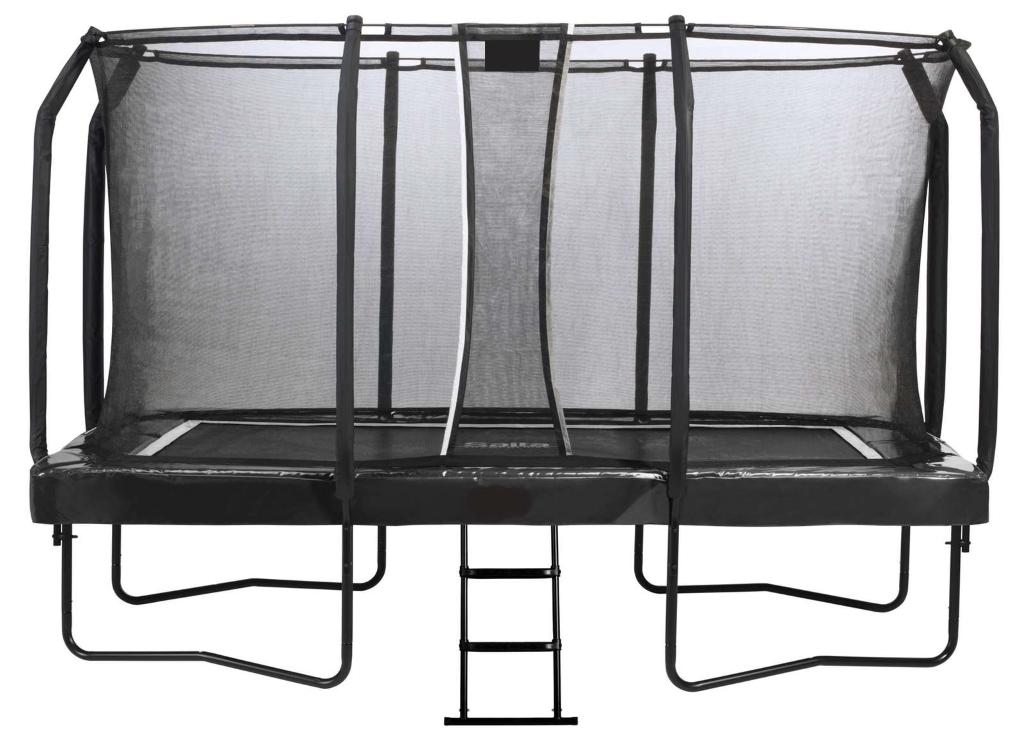 FETE-025 Tappeto elastico rettangolare professionale cm 370x220x270 nero 1