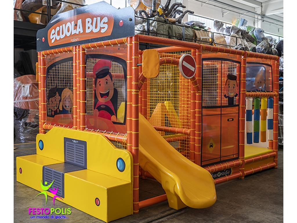 Playground Da Interno Scuola Bus FEPI 606