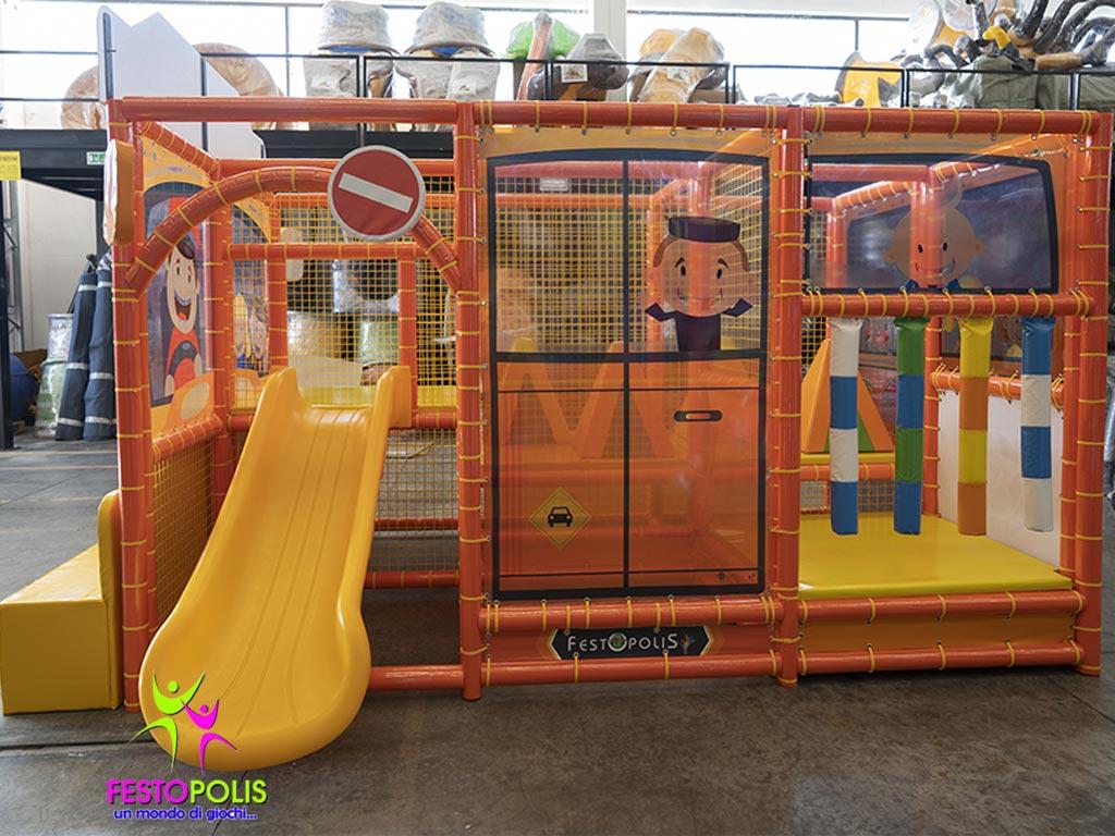 Playground Per Bambini Scuola Bus FEPI 606 8