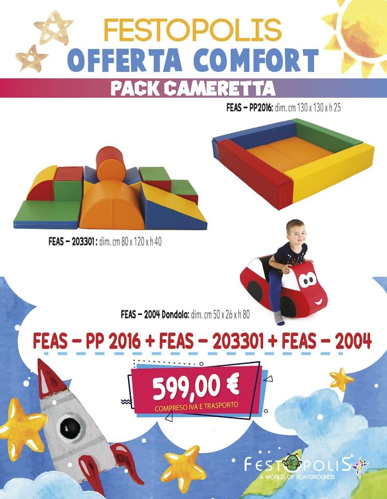 Offerta Comfort Pack Cameretta
