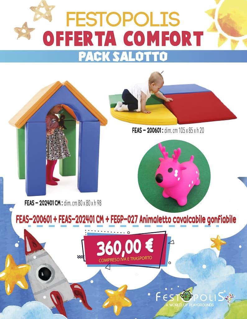 Offerta Comfort Pack Salotto