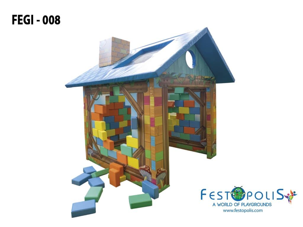 giochi morbidi per area soft gioco morbido costruisci casa fegi 008 2