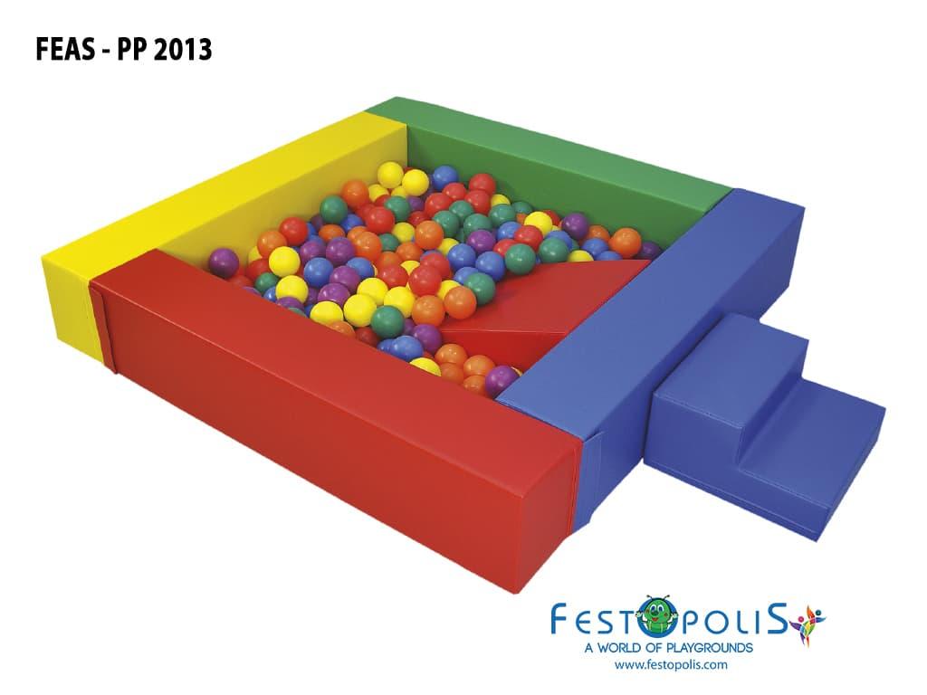 giochi morbidi per area soft piscina con palline bambini feas pp2013