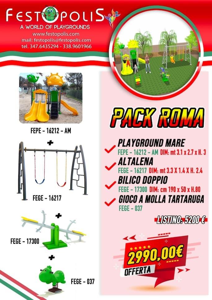 Offerta Business Pack Roma