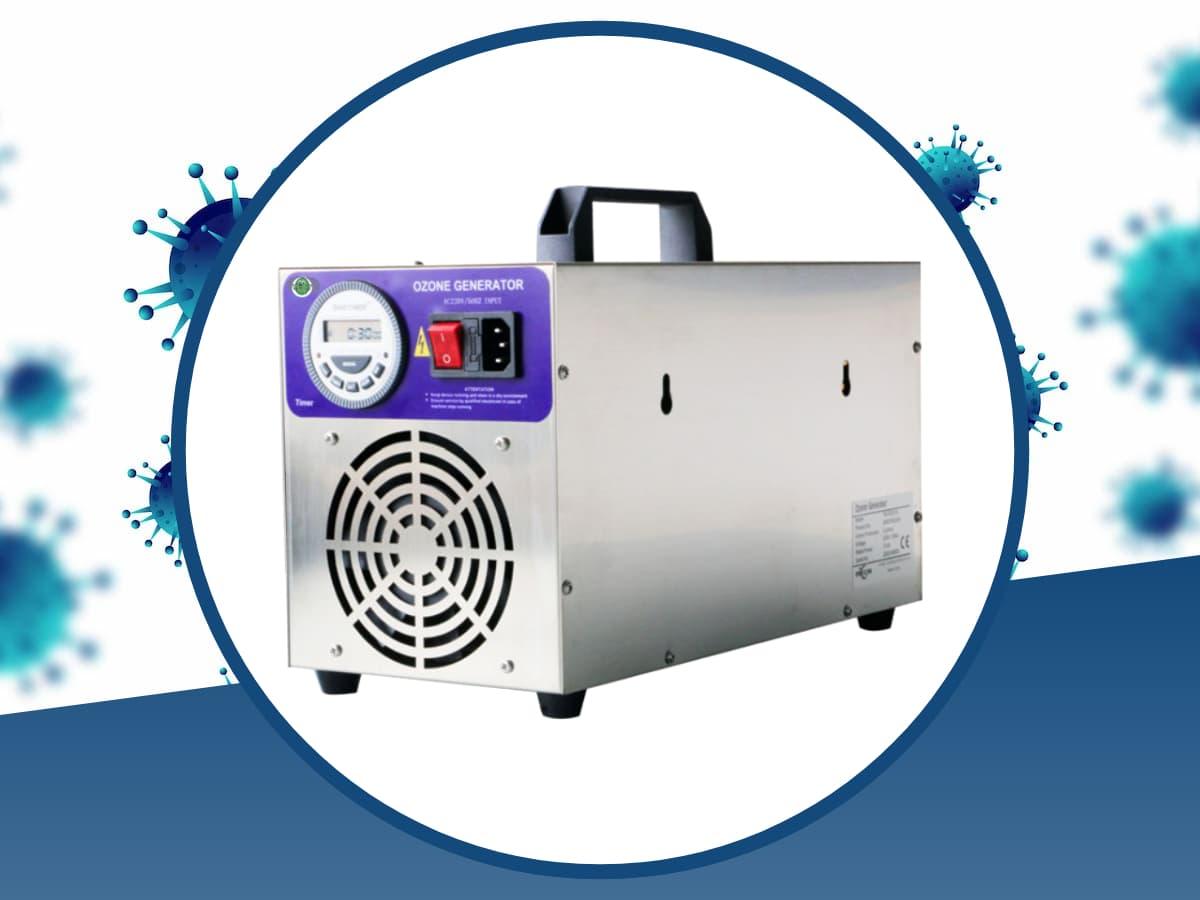 generatore di ozono portatile per sanificazione feoz 10000