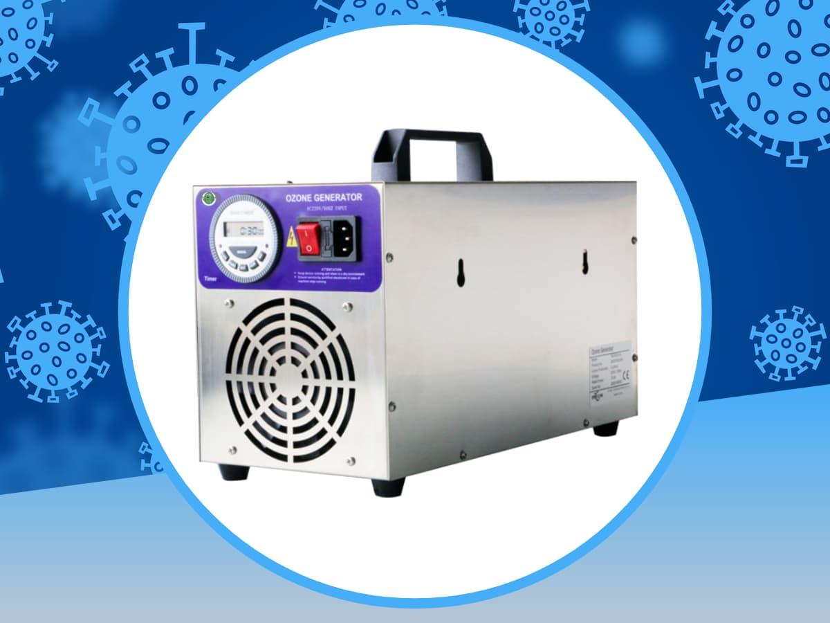 generatore di ozono portatile per sanificazione feoz 15000