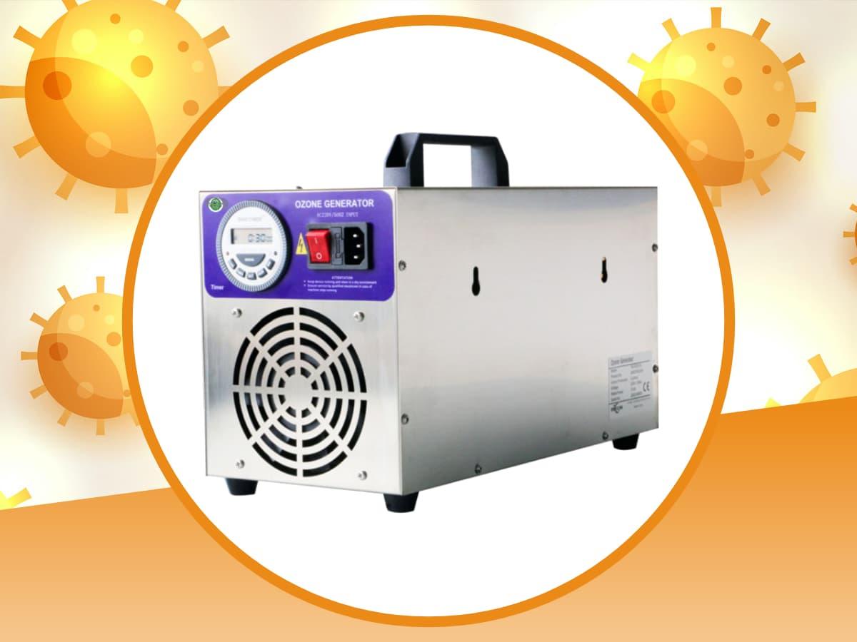 Sanificazione Con Generatore Di Ozono