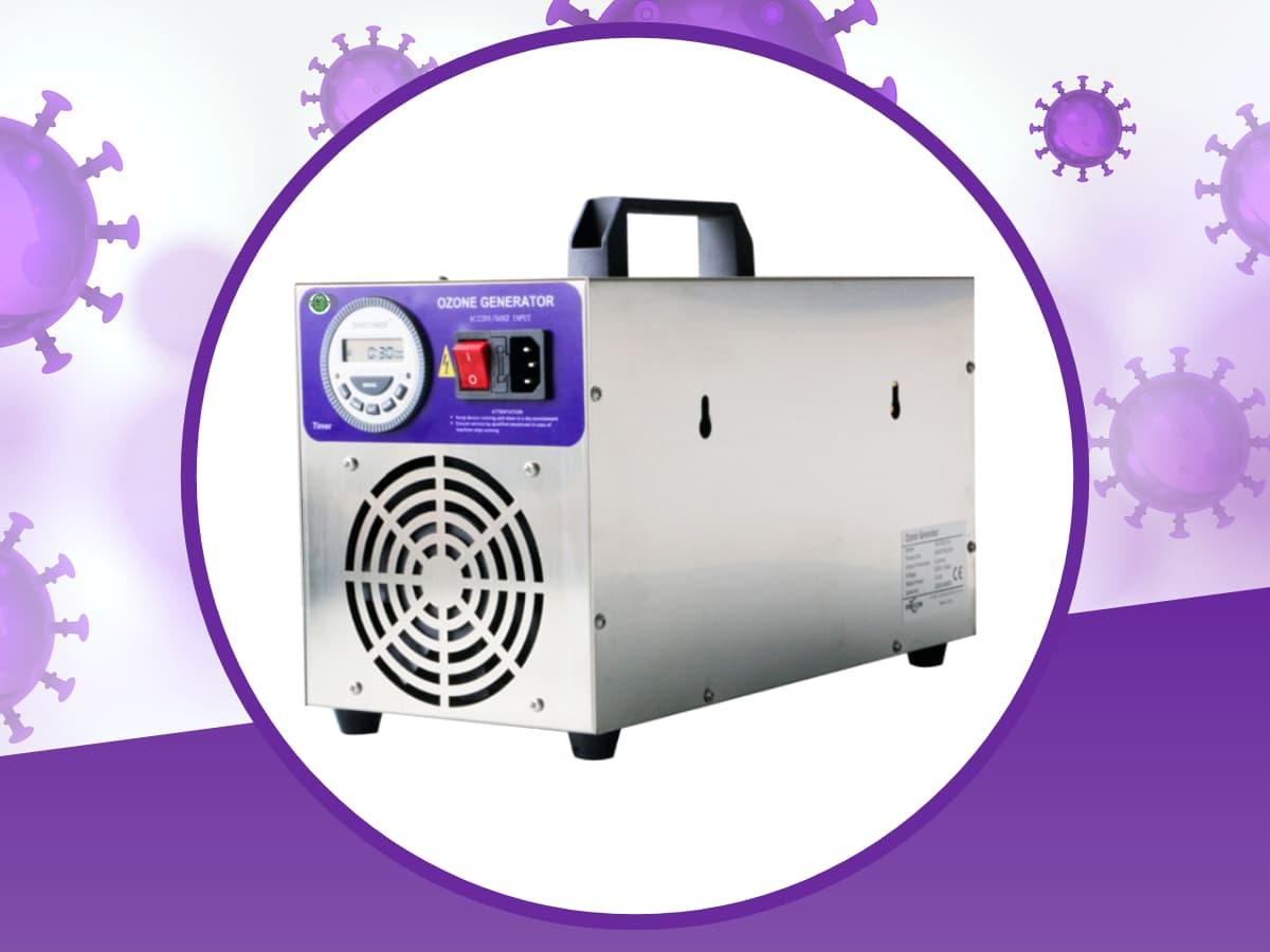 generatore di ozono portatile per sanificazione feoz 5000