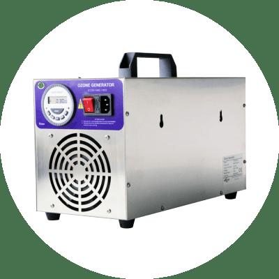 Generatore di ozono per sanificazione anti Covid corona virus