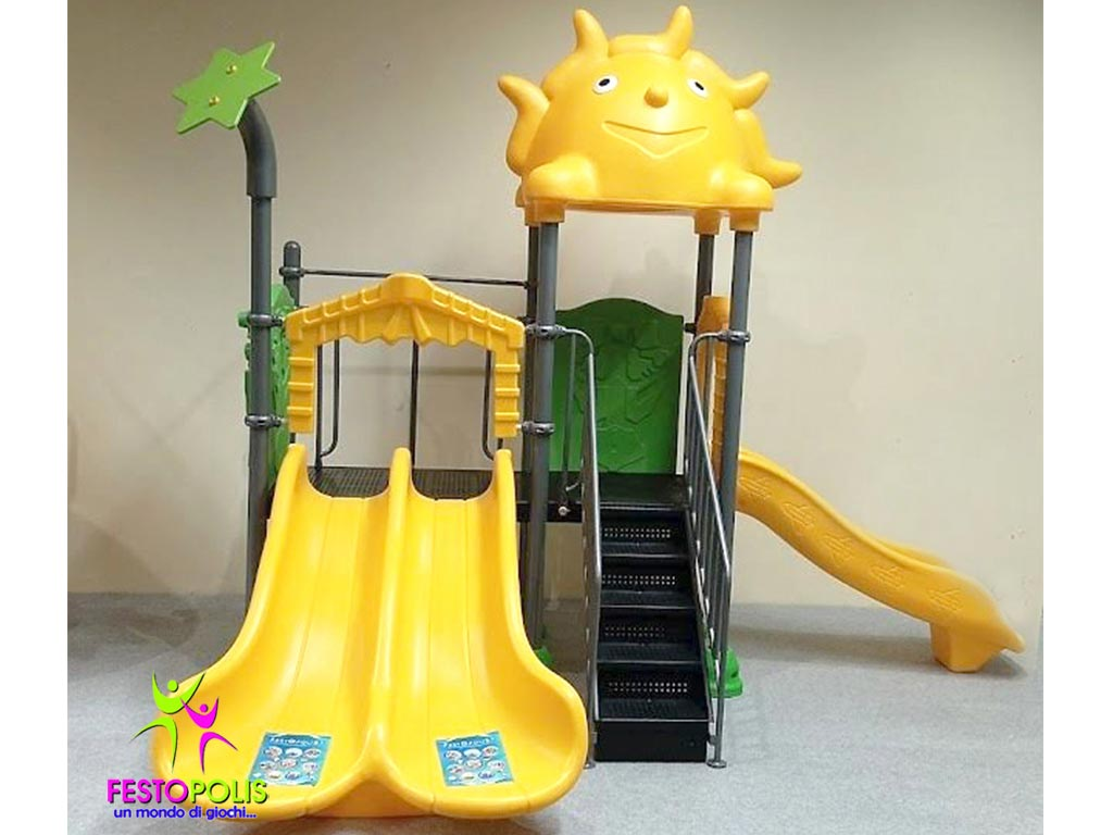 mini playground esterno natura FEPE-16212 AN