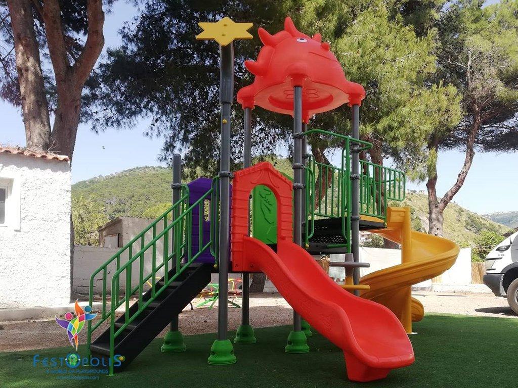 mini playground esterno natura FEPE-16212 BN 1