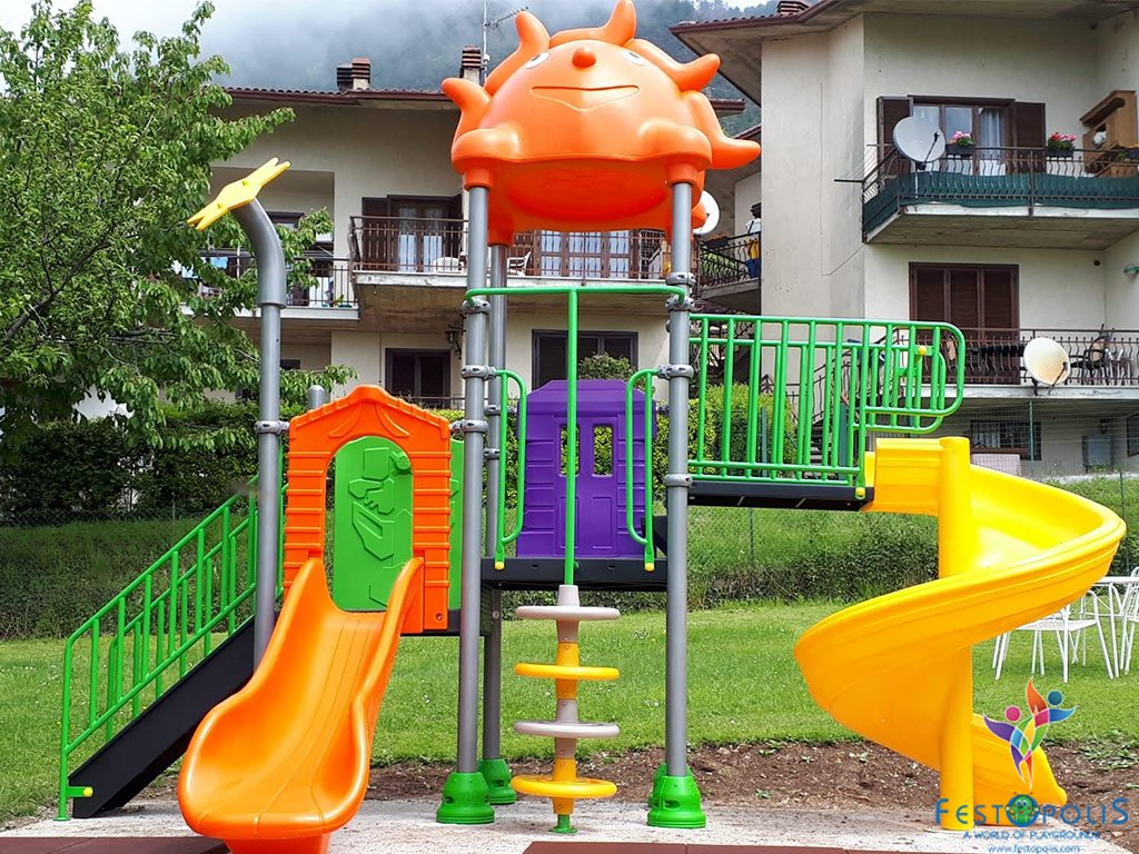 mini playground esterno natura FEPE-16212 BN 5