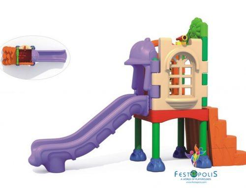 Playground In polietilene Scivolo Esploratore FEPE-702