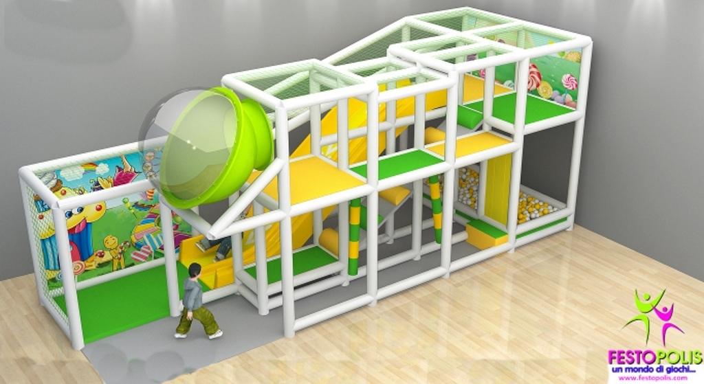 FEPI-038 playground da interno modello Caramelle SITO1
