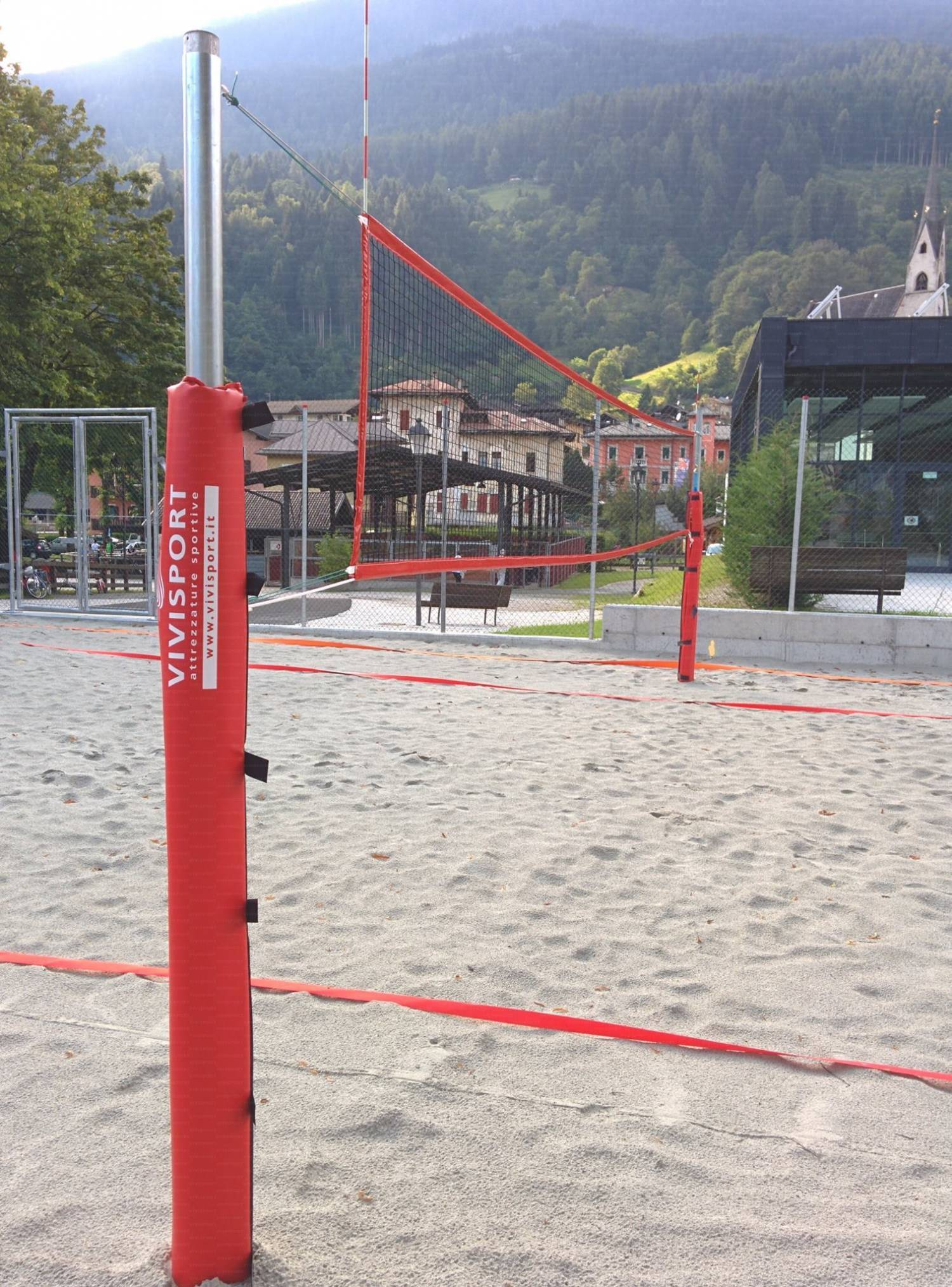 Impianto beach volley