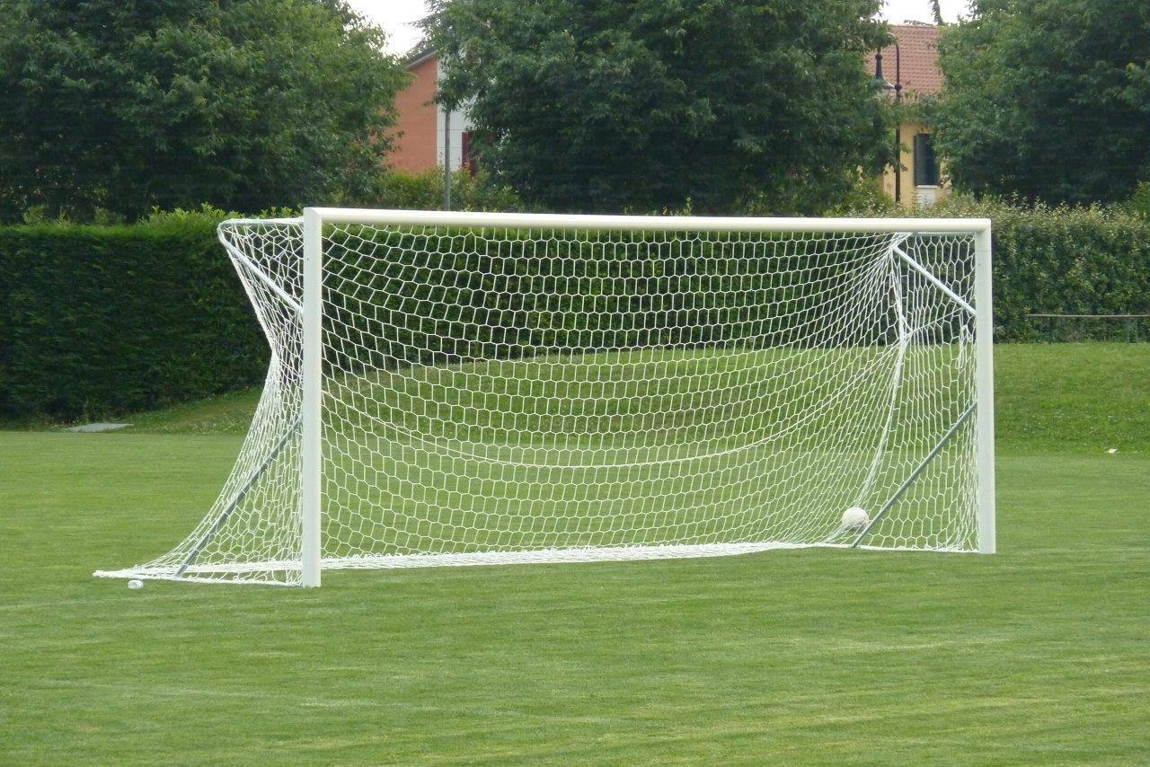 Coppia porte da calcio regolamentari
