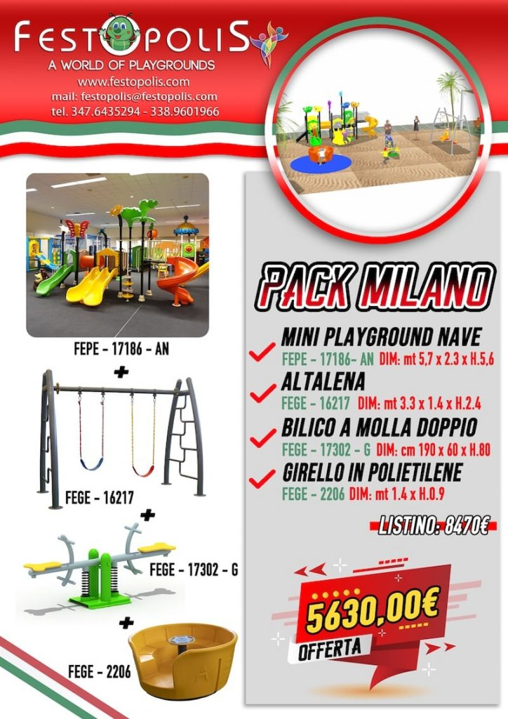 Offerta Business Pack Milano