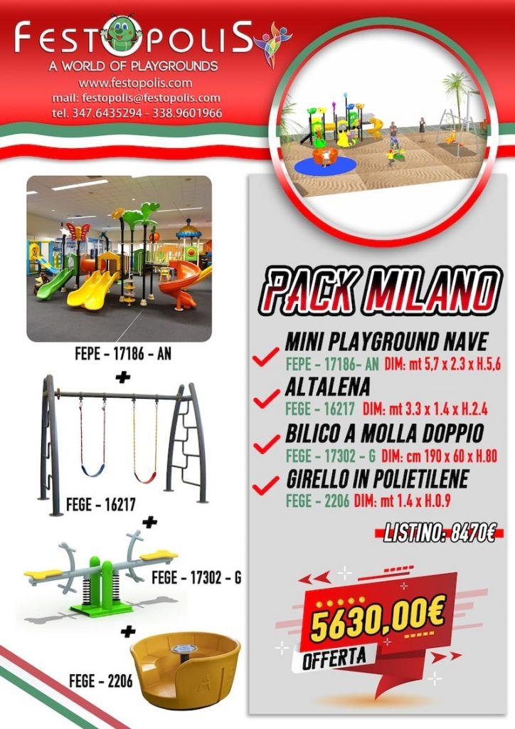 Offerta Business Pack Milano